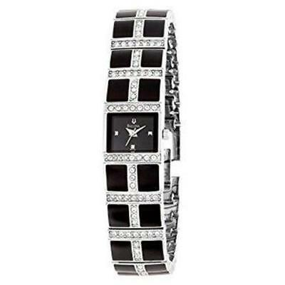 Authentic Bulova Women's 98L109 Crystal Accented Watch