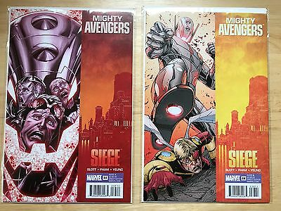 The Mighty Avengers Vol 1 35 36 Plus Dark Annual 10