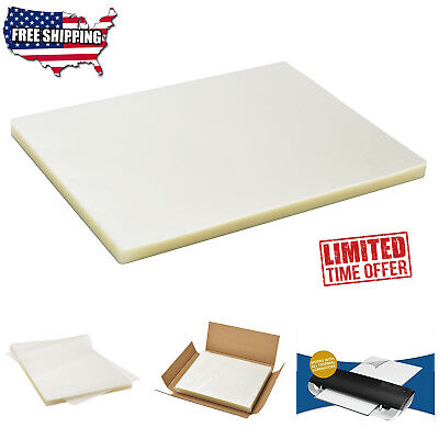 Scotch Thermal Laminating Pouches Letter Size Count 100 Pack Clear Paper Sheet