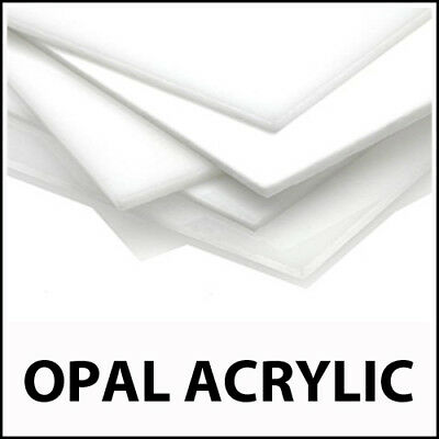 Cut to Size Opal Opaque Acrylic Perspex Plastic Sheet Splash back Kitchen Panel