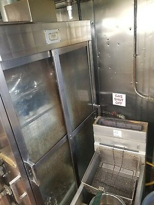 Old Hickory 35 Chicken Commercial Rotisserie Oven Machine, NATURAL GAS in use