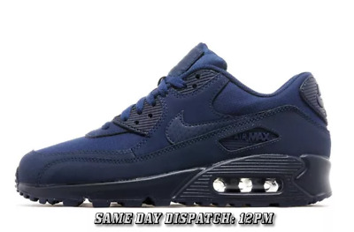 Nike Air Max 90 Essential Trainers Unisex  All Blue Size 6-11