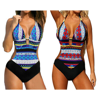 Womens One-piece Swimsuit Swimwear Push Up Monokini Bathing Suit Bikini Hot LOT