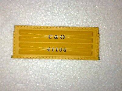 ART 41000: Aristo-Craft Long Gondola Drop End in Yellow as replacement part