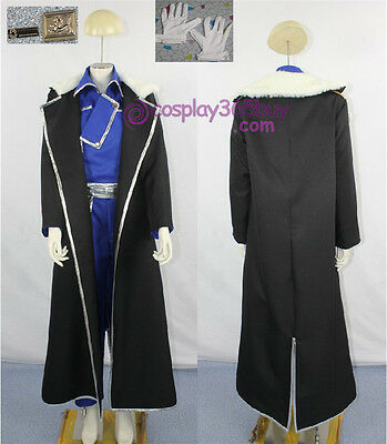 Fullmetal Alchemist Brotherhood Olivia Armstrong cosplay costume inclu.badge