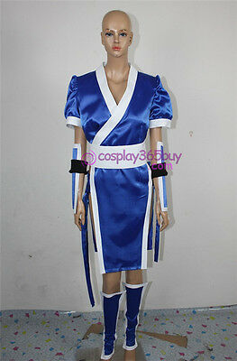 (cosplay365buy) DEAD OR ALIVE kasumi Cosplay Costume blue costume