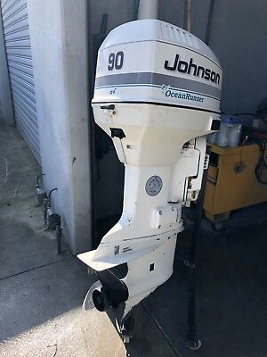 40hp Johnson / Evinrude Outboard Motor (Can Freight Australia Wide)