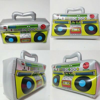 "16.9""*11.8"" Inflatable Boom Box Fancy Dress Kids Party Prop PVC Radio Simulation"