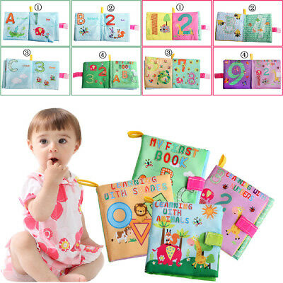 Toy Kid Cloth Book New Early Soft Learning Baby Development Girl Intelligence