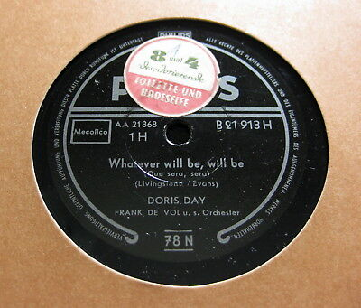 Doris Day - Whatever Will Be, Will Be = Que sera, sera  PHILIPS (1170)