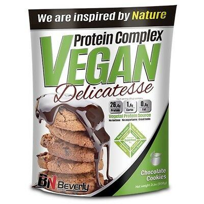 Beverly Nutrition - Protein Complex Vegan Delicatesse, 900 G, Chocolate Cookies
