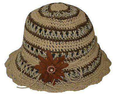 d774be463 JEANNE SIMMONS WOMEN'S Beach Hat Retro Style Oversized Packable ...