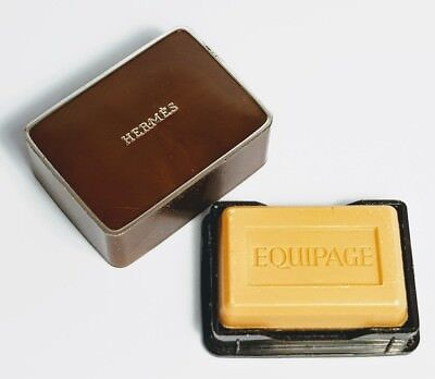 Vintage EQUIPAGE HERMÉS Mini Scented Soap for Men - Net Weight 24gr 8 oz