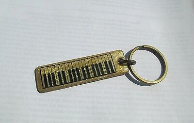 RARE  /  Old Vintage Key Ring - Fob - Chain  ACCORIDION  -  MUSIC  vintage - old