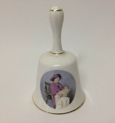 QUEEN MOTHER - 'PRINCE HARRY' HENRY - Finsbury Fine Bone China Bell