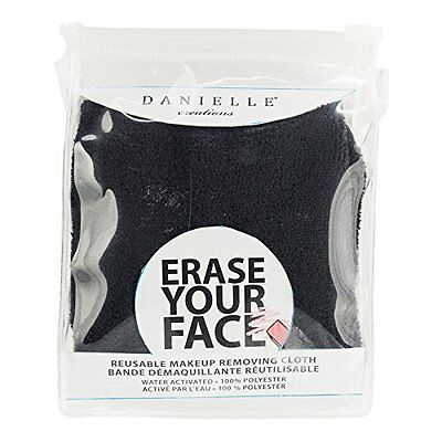 Danielle ERASE YOUR FACE Reusable Makeup Removing Cloth BLACK