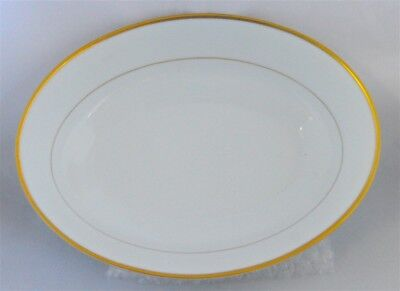 Noritake Fine China Heritage 2982 Oval Serving Vegetable Bowl/ Dish 9.5 Inch