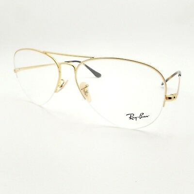 fb980613102 AUTHENTIC RAY BAN 7031 2001 Transparent RB RX Frame New Light Ray ...
