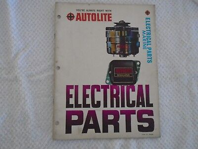 1966 Autolite MARINE Electrical parts Catalog