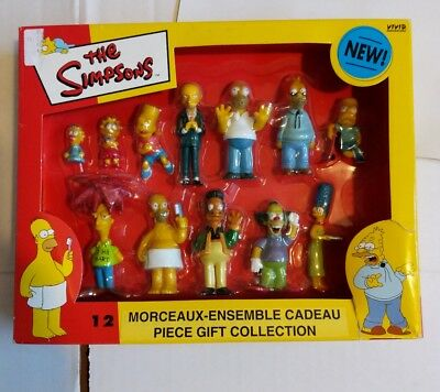 12 Simpsons Character Figurines