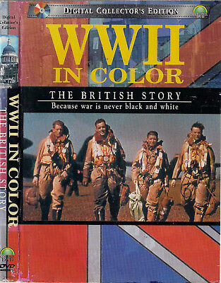 World War II In Color: The British Story (3-DVD Set, 2001) Unknown Warriors + 2