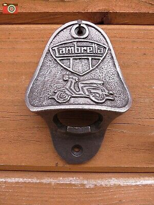 A Wall Mount Stella Artois Bottle Opener, Cast Iron, Kitchen, Bar, Patio