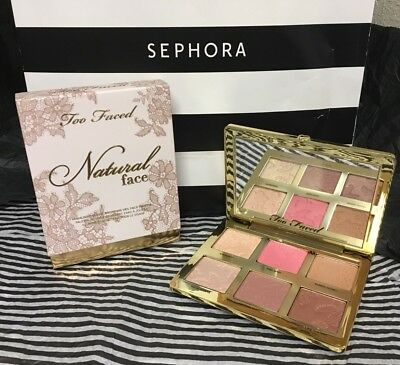 "TOO FACED NATURAL FACE HIGHLIGHT, BLUSH & BRONZING VEIL FACE ""LACE""💯Authentic!!"