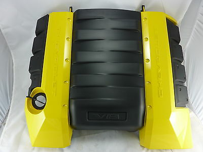 Holden HSV VE Commodore Chev V8 Engine Cover L98 LS2 LS3 Yellow # 92219178-KIT