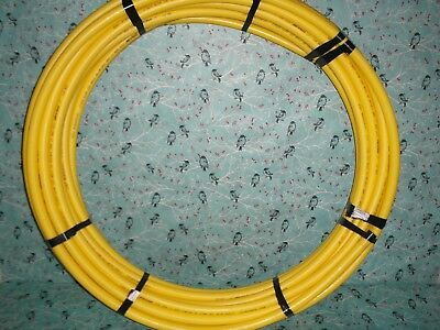 Cresline Yellow SDR 11 1in IPS Gas Tubing Pipe 18 Feet PE 2708 Nat. Gas Propane