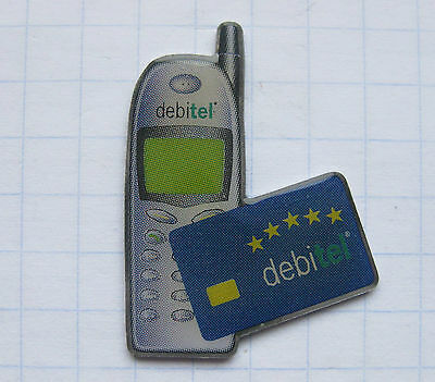 DEBITEL  / TELEKOMMUNIKATION     .......Handy Pin (119b)