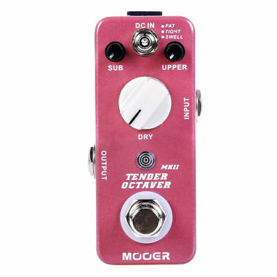 Mooer Tender Octaver MKII Guitar Effects Pedal! NEW from Mooer!