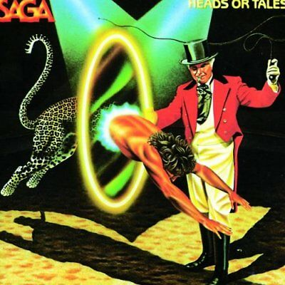 SAGA - Heads Or Tales - CD - Import - **BRAND NEW/STILL SEALED**