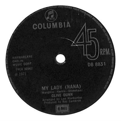 """Clive Dunn - My Lady - 7"""" Record Single"""