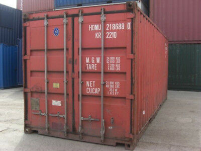 20ft used shipping container in cargo-worthy condition, Detroit, Michigan