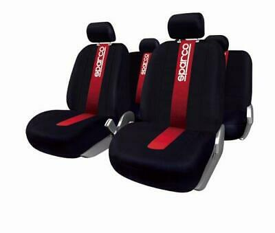 Set Coprisedili Sparco Ant./post. 100% Poliestere Rosso Sparco