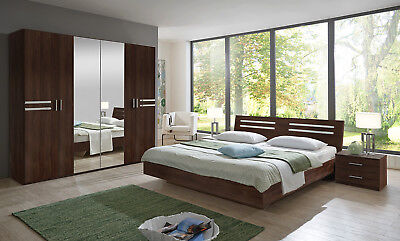 Qmax 'Suzie' Range. German Made Bedroom Furniture. Walnut Finish
