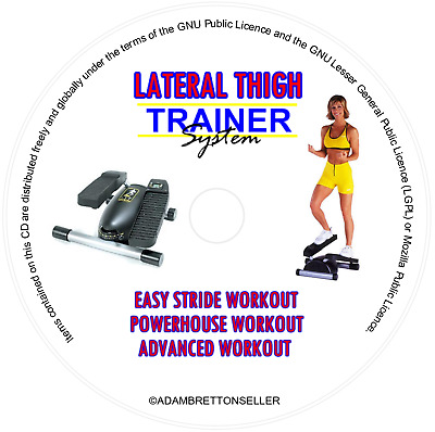 Lateral Thigh Trainer Workout DVD: Beginners > Advanced