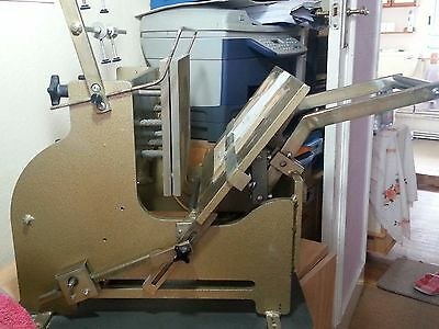 """Gold Leaf / Hot Foiling Printing Machine-""""SOLID"""" - Very Good Working Condition"""