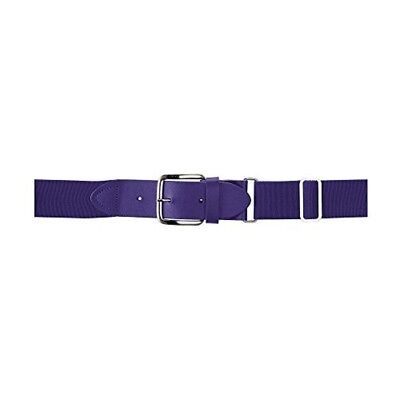(One Size, Purple) - Wilson Sporting Goods Youth Elastic Baseball Belt