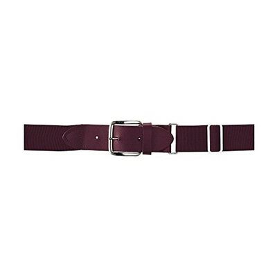 (One Size, Maroon) - Wilson Sporting Goods Youth Elastic Baseball Belt