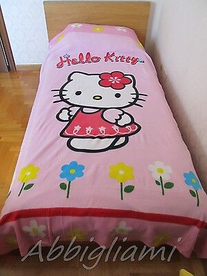 Copertina Plaid Letto Singolo Original Hello Kitty160 x 240
