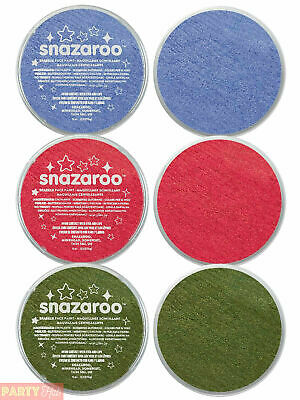 Snazaroo 18ml Sparkle Face & Body Paint Fancy Dress Stage Make Up Theatre
