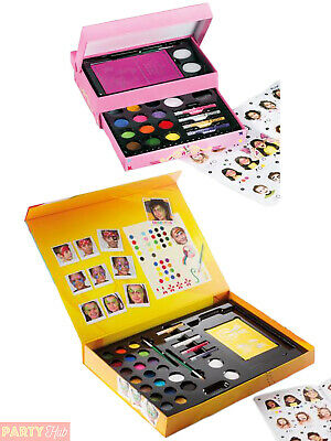 Snazaroo Face Paint Gift Box Large Small Painting Fancy Dress Make Up Accessory