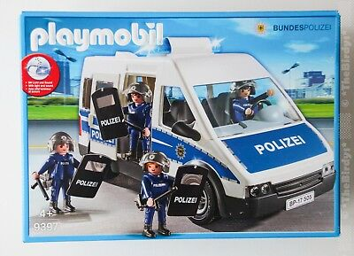 playmobil polizei 9397 mit licht und sound. Black Bedroom Furniture Sets. Home Design Ideas