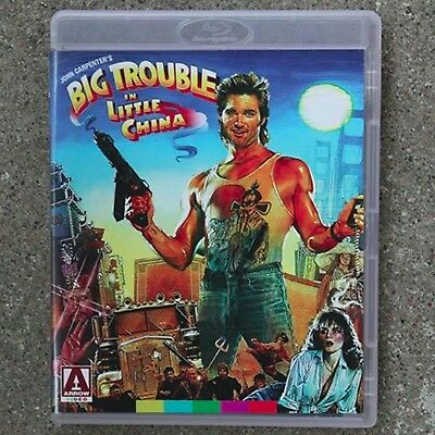 Blu-Ray   Big Trouble In Little China   ( Arrow )      Brand New Sealed Uk Stock
