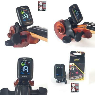 eno Professional Violin Viola Tuner, Colorful LCD Display Easy Control Tuner