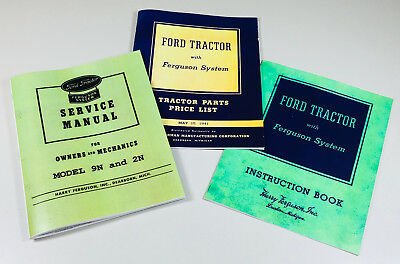 Enjoyable Ford 9N 2N Tractor Shop Service Operators Parts Manuals 45 41 Wiring Digital Resources Cettecompassionincorg