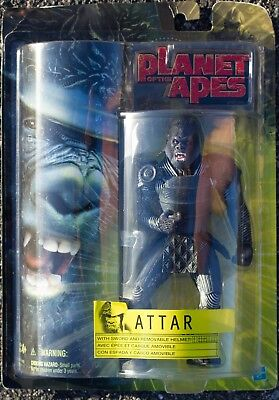 Planet of The Apes Attar Action Figure NOS Free USA Shipping