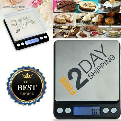 Digital Weighing Postage Scale Kitchen PCS Electric LCD Food Baking Grams Ounces