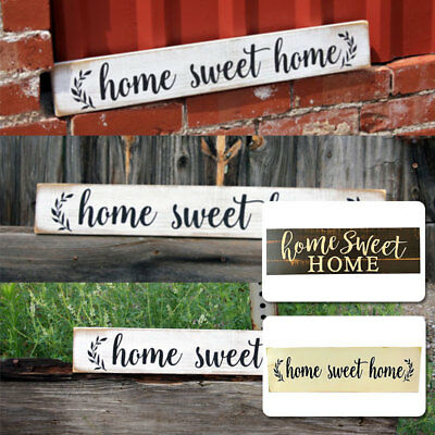 Farmhouse Style Sign Rustic Wood Sign Creative Vintage Home Sweet Home Wooden